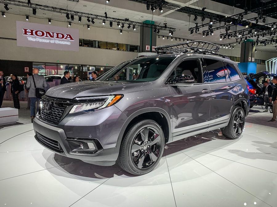 LA Auto Show-Honda Passport