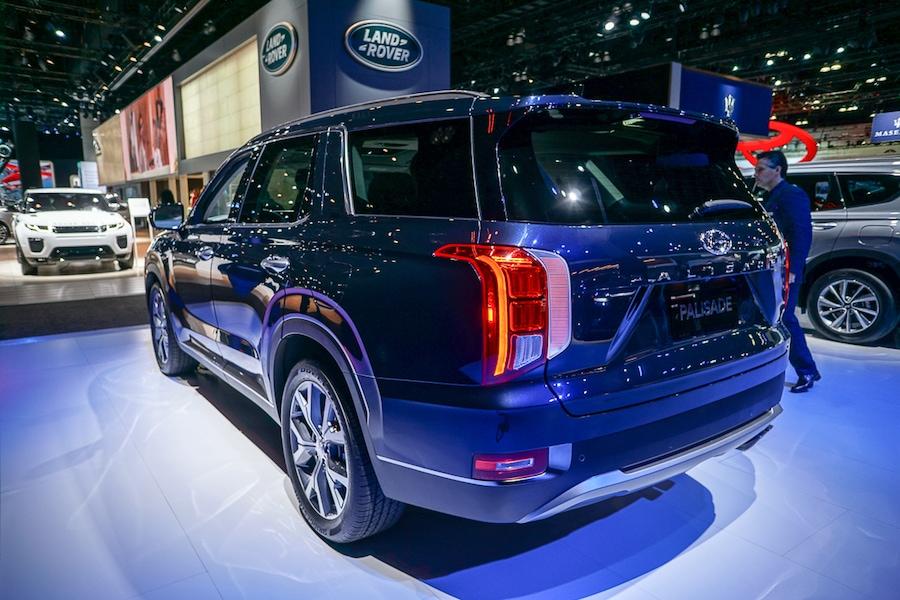 LA Auto Show-Hyundai Palisade rear