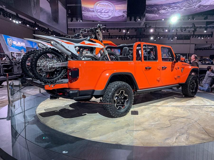 LA Auto Show-Jeep Gladiator