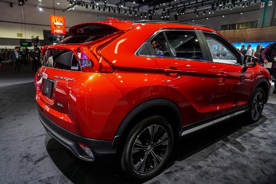 LA Auto Show-Mitsubishi Eclipse Cross