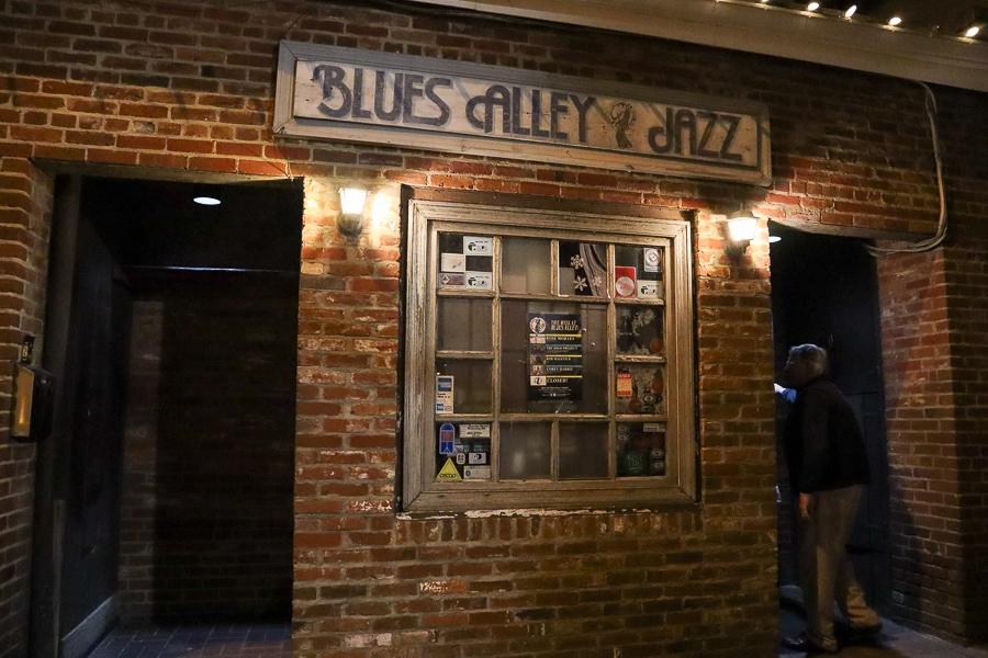 Blues Alley in Georgetown