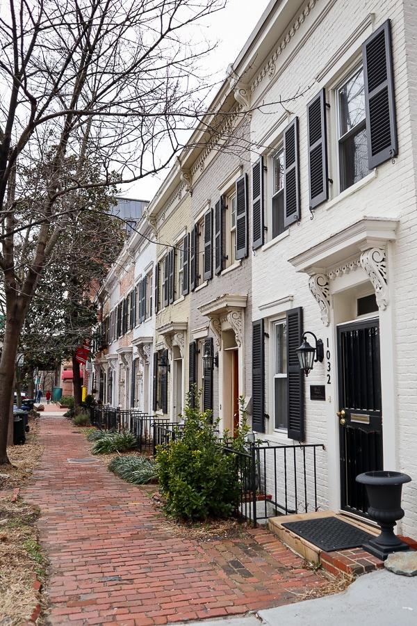 Georgetown row houses