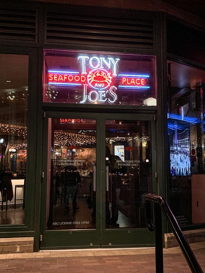 Tony and Joe's - Georgetown