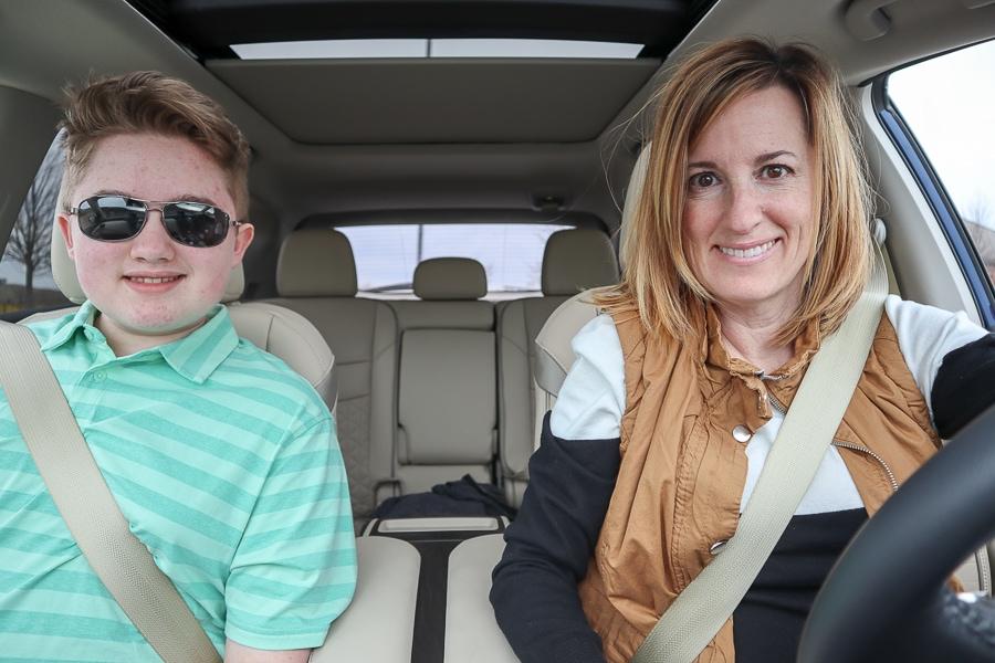 Nissan Murano road trip