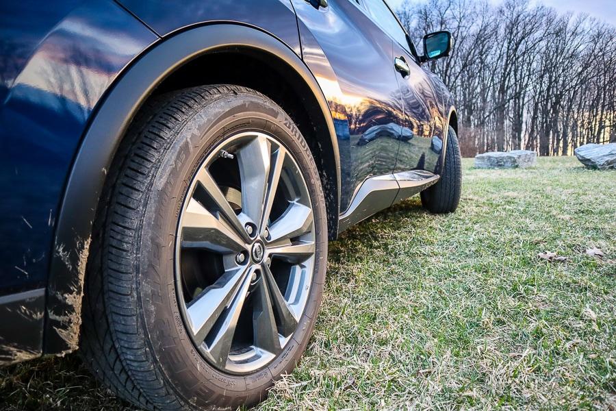 """Nissan Murano 20"""" Unique Dark Hyper Silver Wheels"""