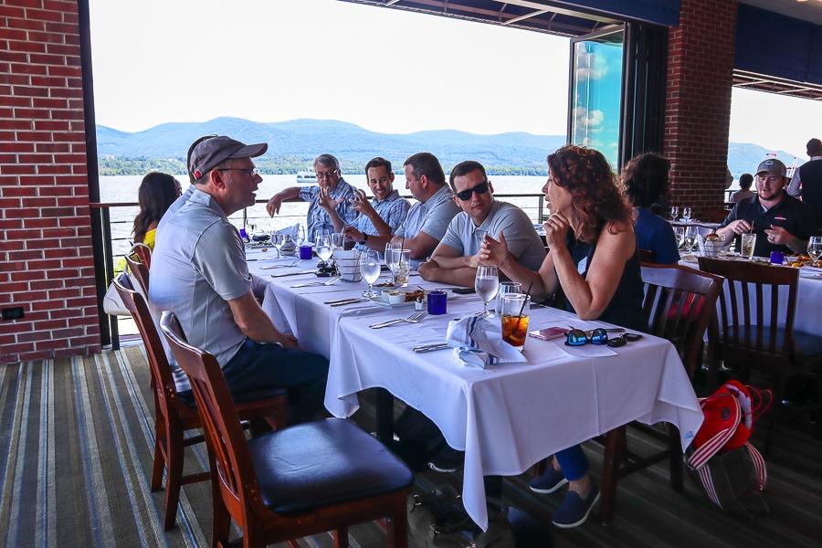 Lunch at Blu Pointe