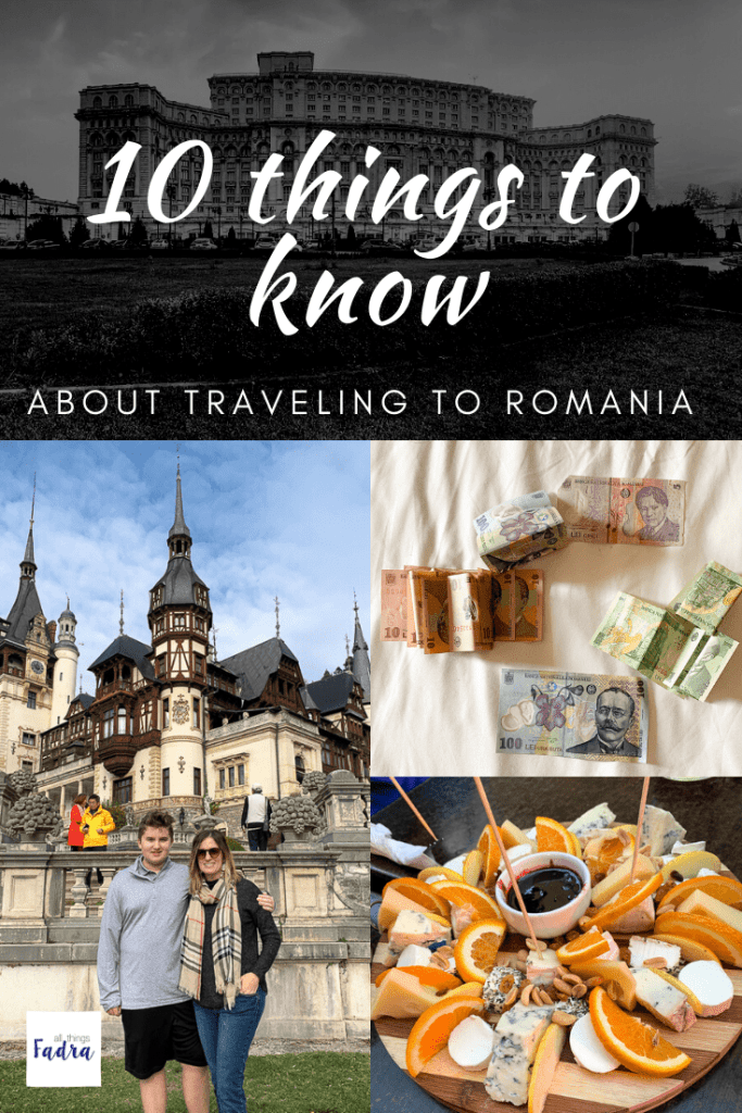 10 Things to know about traveling to Romania