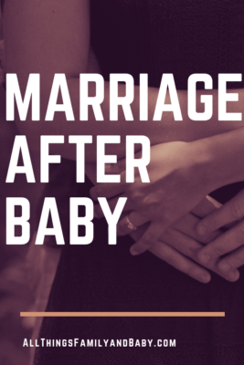 how to help an unhappy marriage after baby