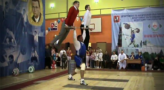 Mikhail Misha Koklyaev Human Jerk