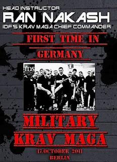 Ran Nakash Military Krav Maga Workshop Seminar