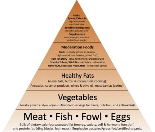Mark Sisson Primal Food Pyramid