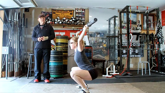 Sage Burgener Snatch Correcting Issues With The Burgener Warm-up Mike Burgener