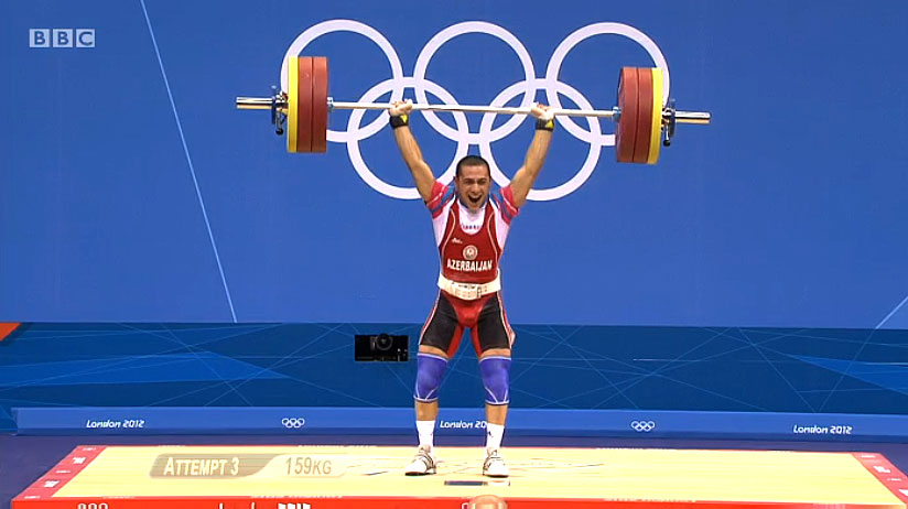 Valentin Hristov 159kg Clean Jerk