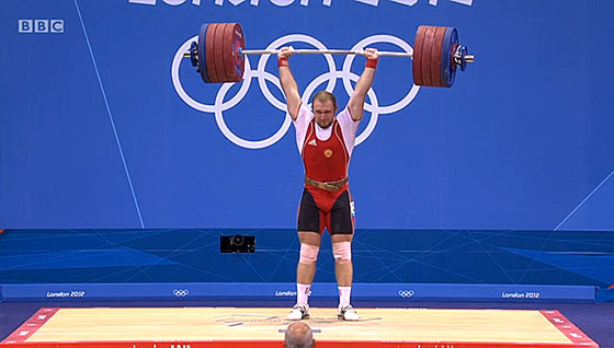 Alexandr Ivanov 224kg Clean Jerk