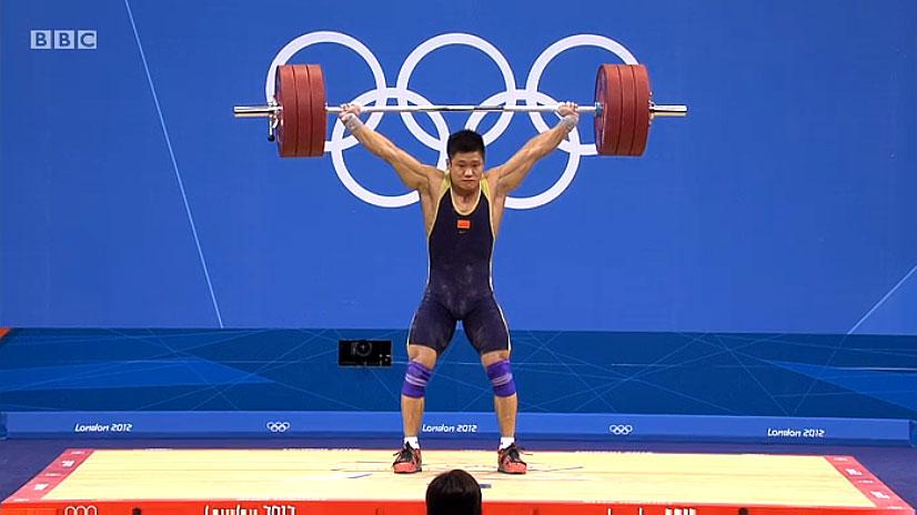 Lu Xiaojun 175kg Snatch World Record