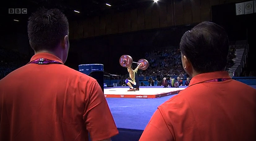 Lu Xiaojun 175kg Snatch coaches World Record