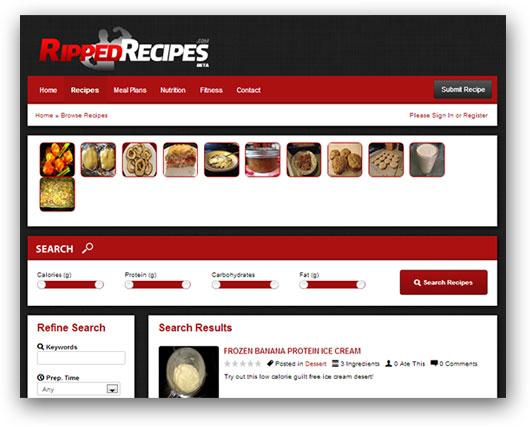 Ripped Recipes