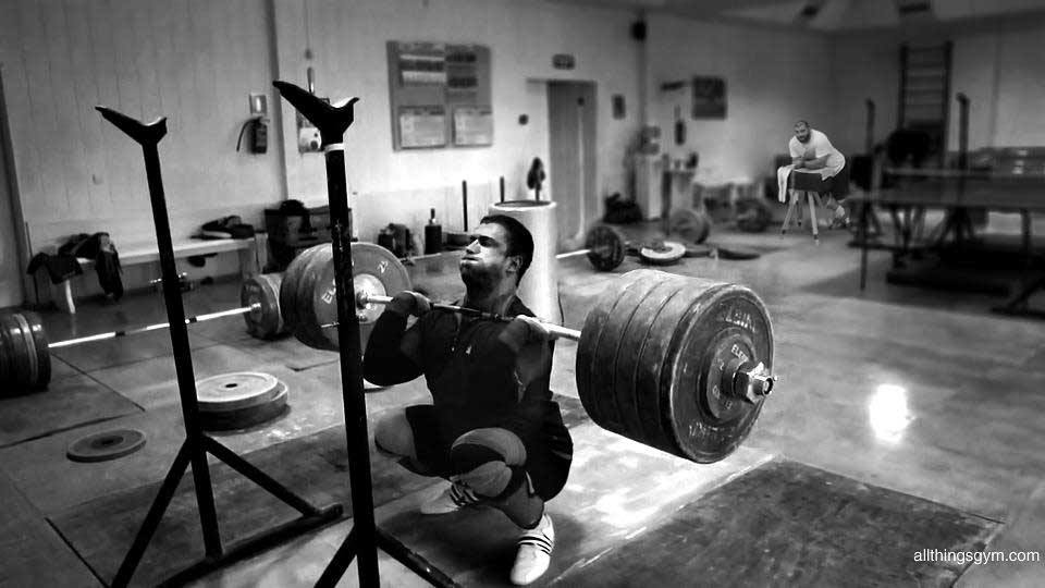Chingizleansonthings-while-klokov-front-squats