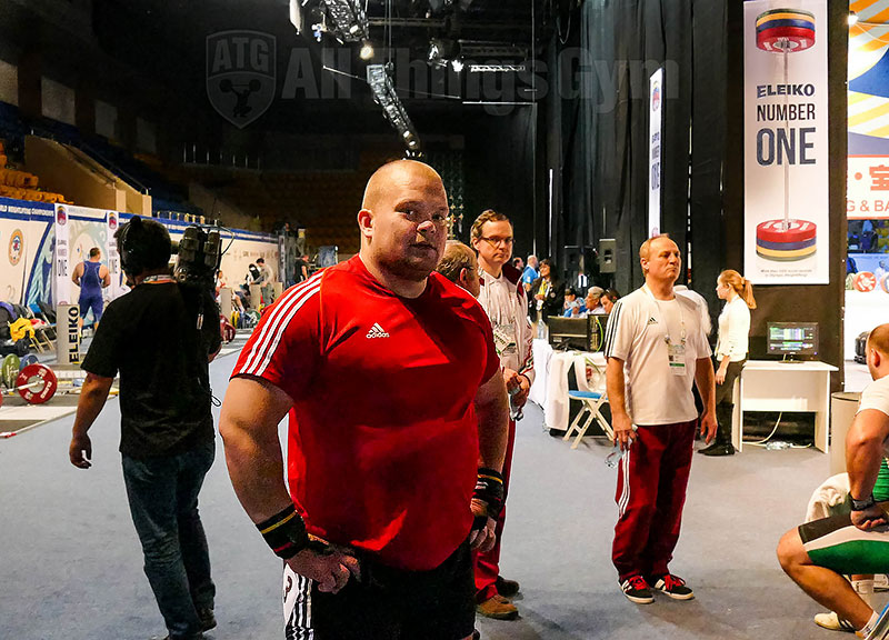 mart seim warm up area 2014 world championships