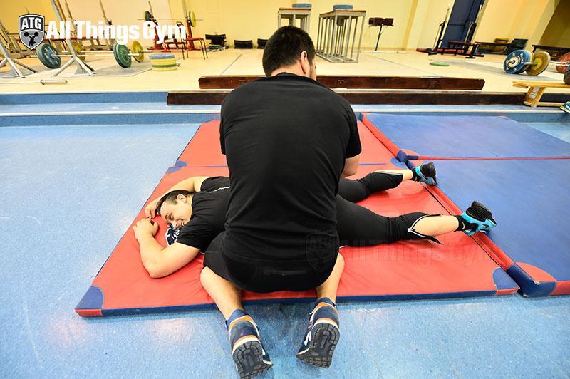 Ilya-getting-massaged-atg