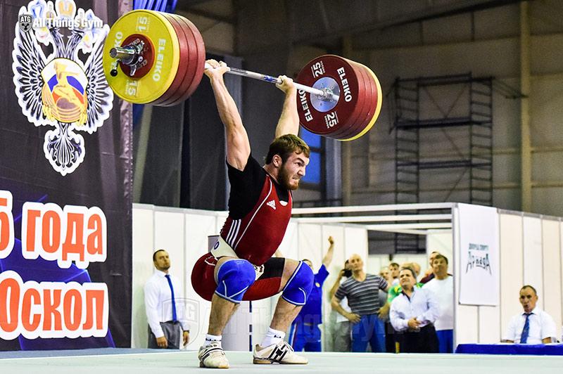 Apti Akuhadov 210kg Clean & Jerk