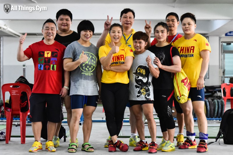 Chinese Weightlifting Team