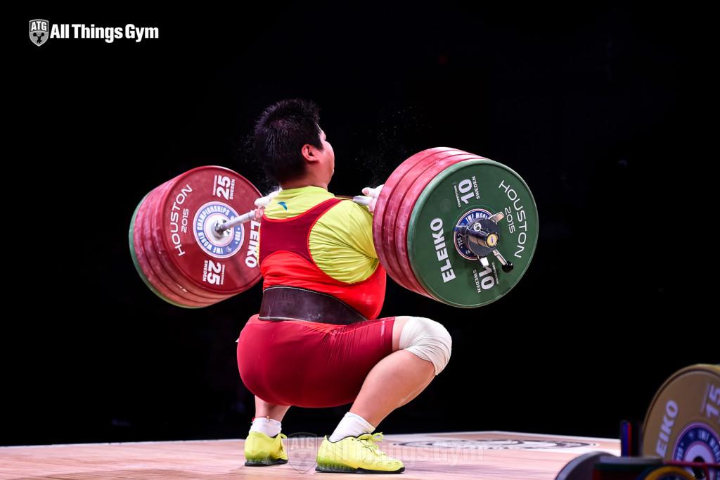 Meng Suping 190kg Bar Bend