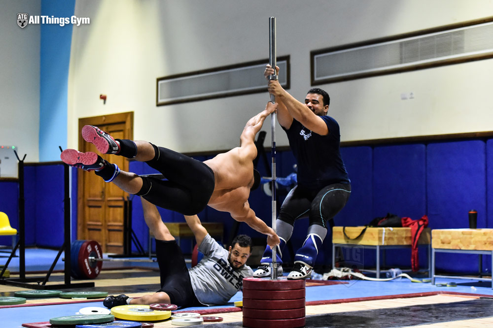 Mohamed Ehab Human Flag Back