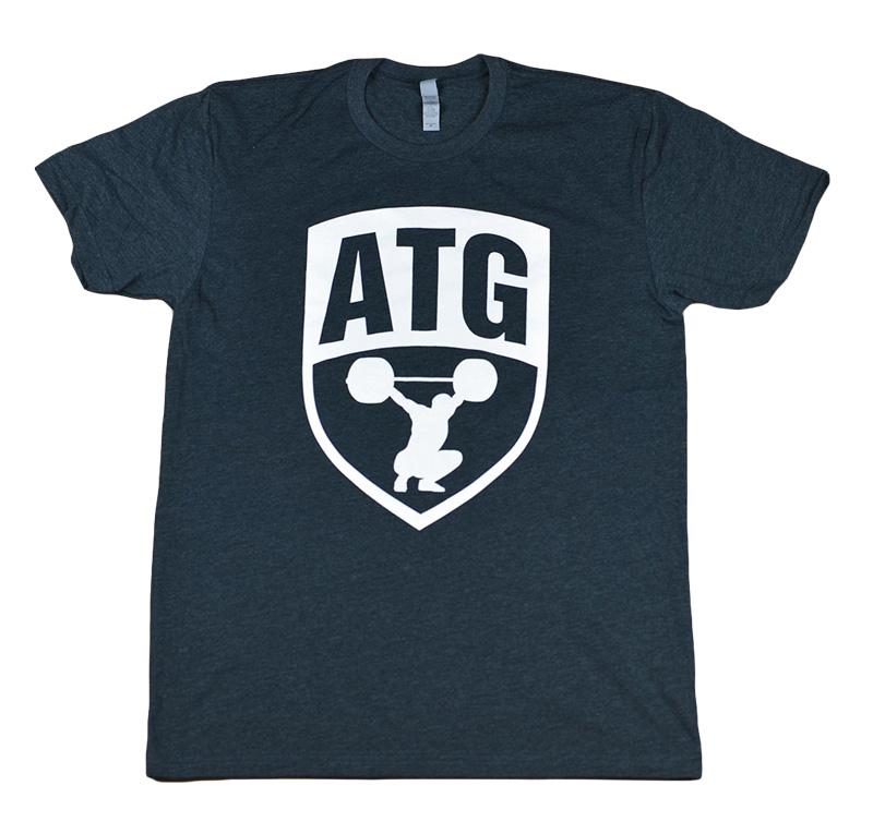 ATG Shirt Charcoal White