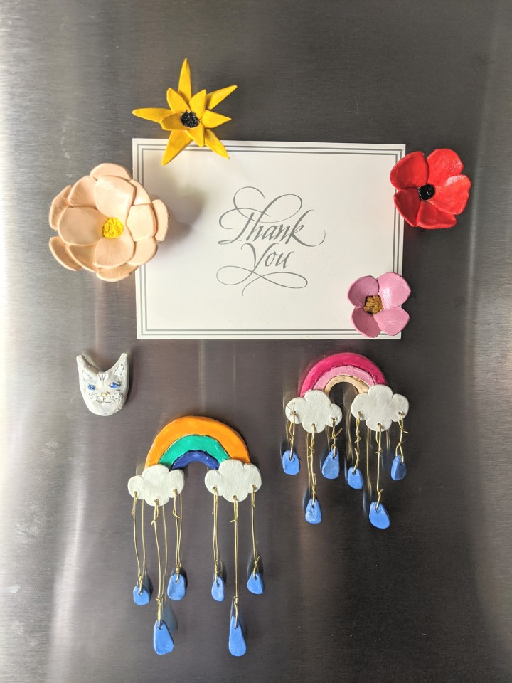 DIY: Clay Magnets