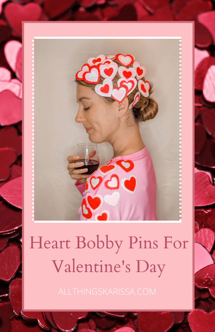 DIY: Heart Bobby Pins For Valentine's Day