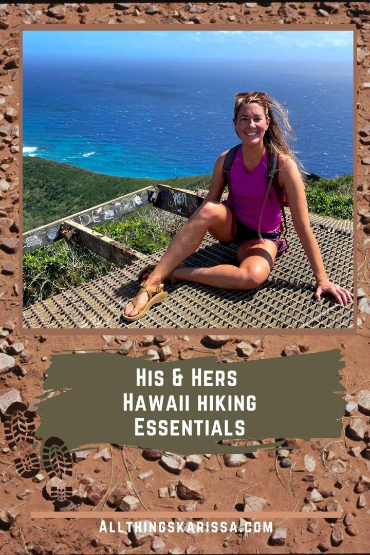 His & Hers Hawaii Hiking Essentials