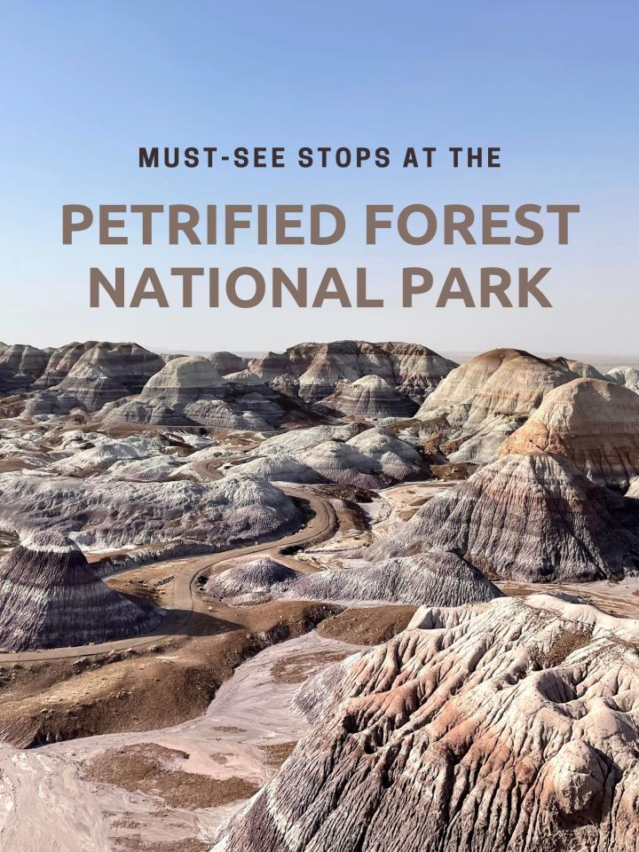 Must-See Stops At The Petrified Forest National Park