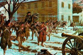 Battle of Trenton, December 26, 1777. Source: U.S. Army Center of Military History