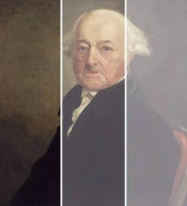 Portrait of John Adams, circa 1816, by Samuel Morse