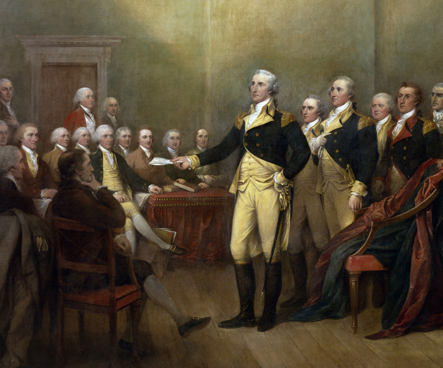 Furloughs Discharges And The End Of The Continental Army