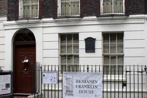 Benjamin Franklin House, 36 Craven St, London. (Photo by Elliott Brown | Wikimedia Commons)