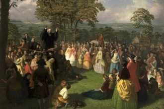 George Whitefield Preaching in Bolton, June 1750 (Bolton Library & Museum Services, Bolton Council)