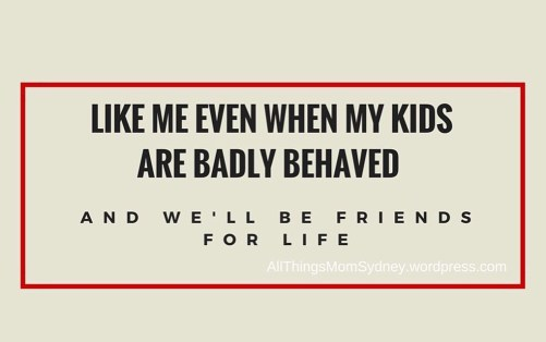 friends for life - parenting memes