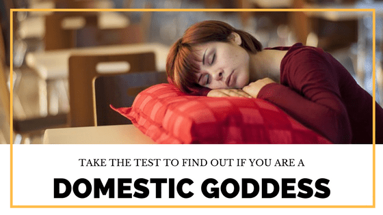 are you a domestic goddess a humorous test