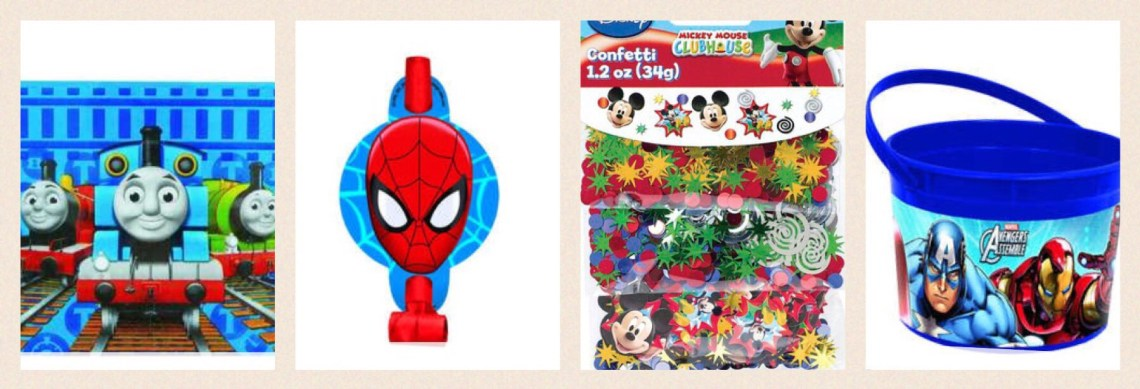 party decorations to buy for your child's party