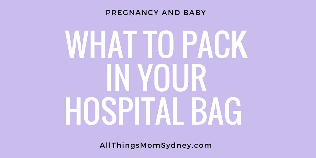 What to pack in your hospital bag, for baby and you. From a mom of two who is a little obsessed with being prepared!