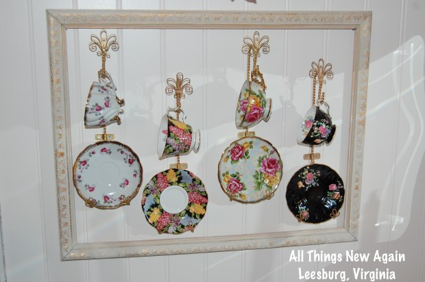 Home Decor Ideas | Picture Frames | Frames | Decorate | Cups and Saucers