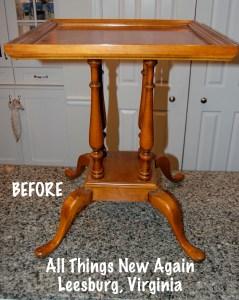 grandmas table_before