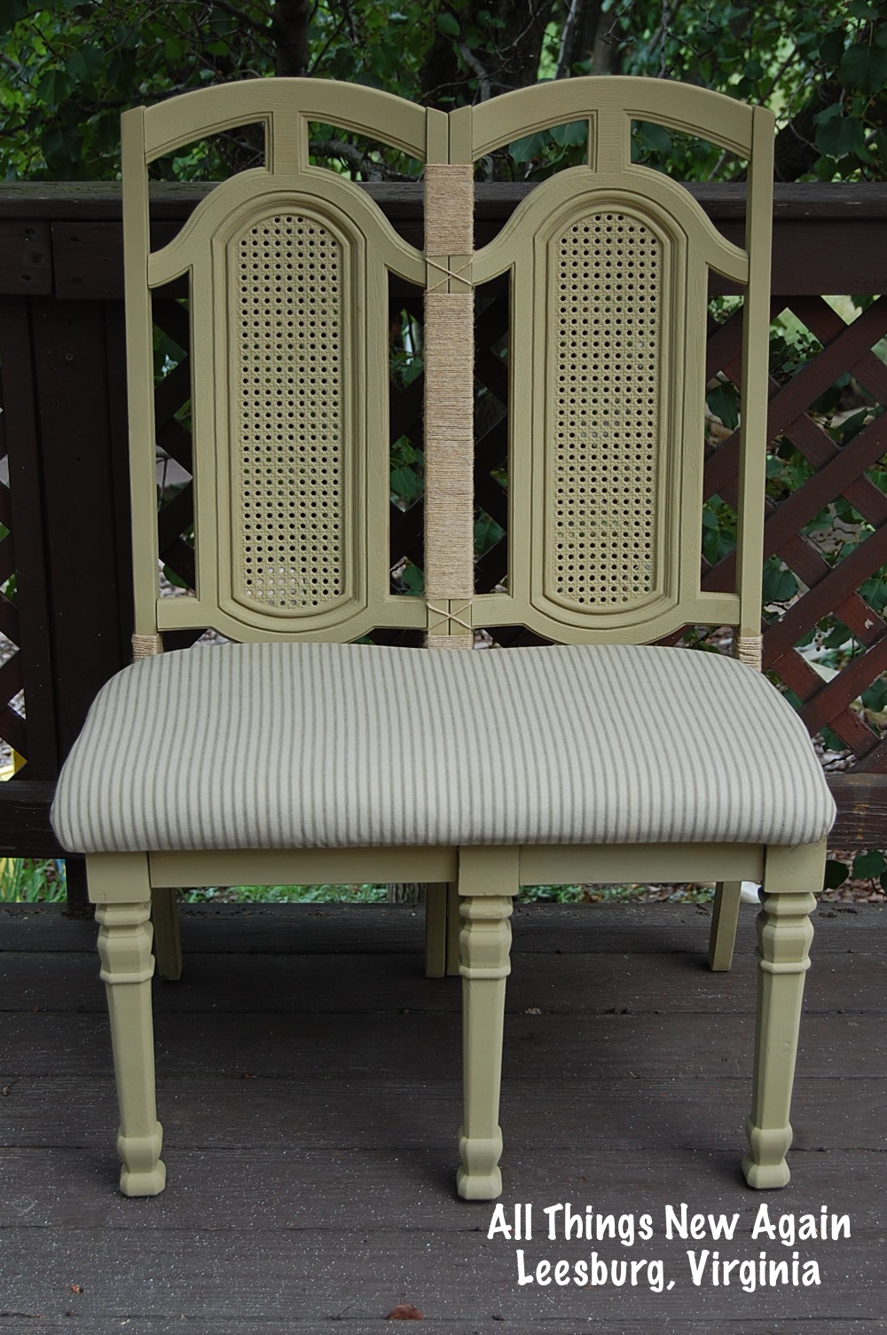 How To Make A Bench From A Chair Pair All Things New Again