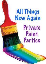 private paint party graphic