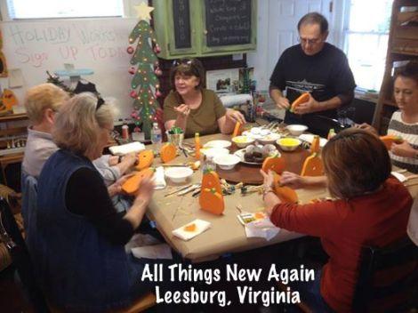 pumpkin class working