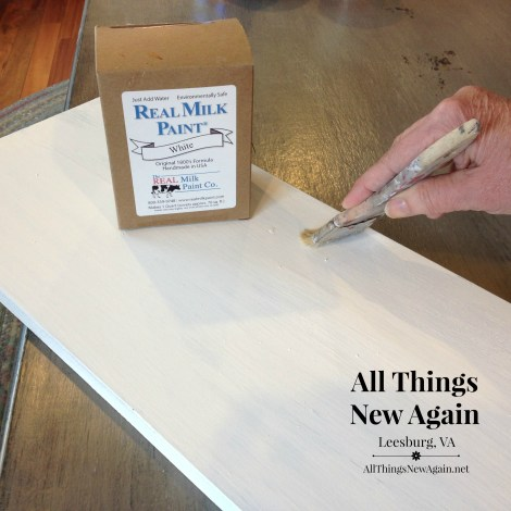 real milk paint_white