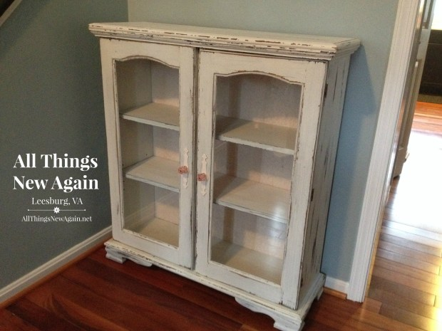 Milk Paint Furniture | White China Cabinet | Painted Furniture | Milk Paint Class