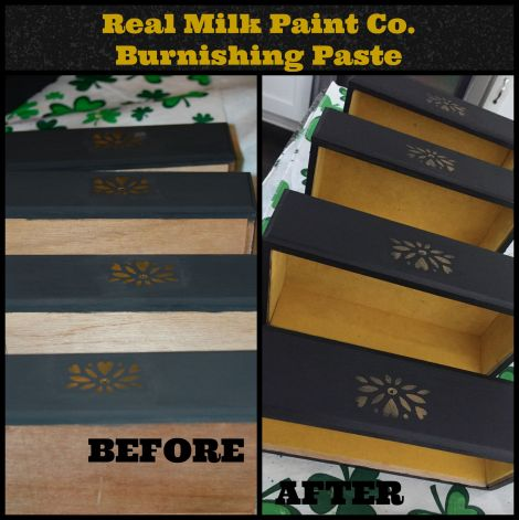 Burnishing Paste_before and after